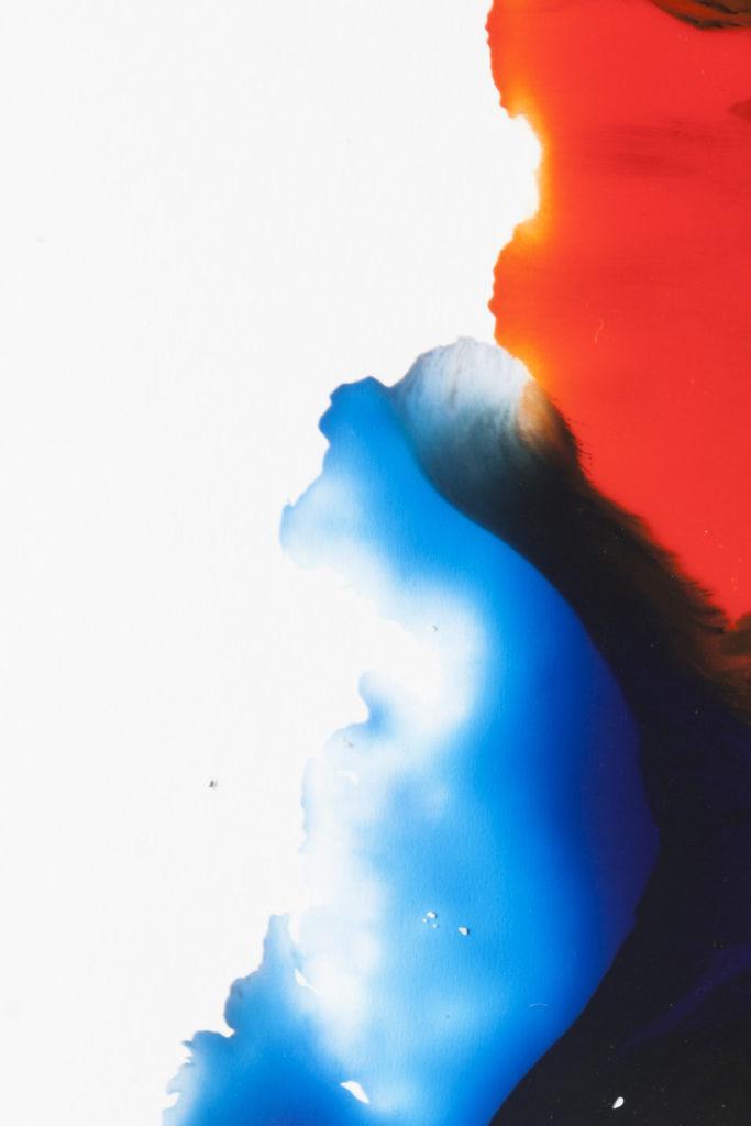 expérimentation graphique des mélanges de couleurs