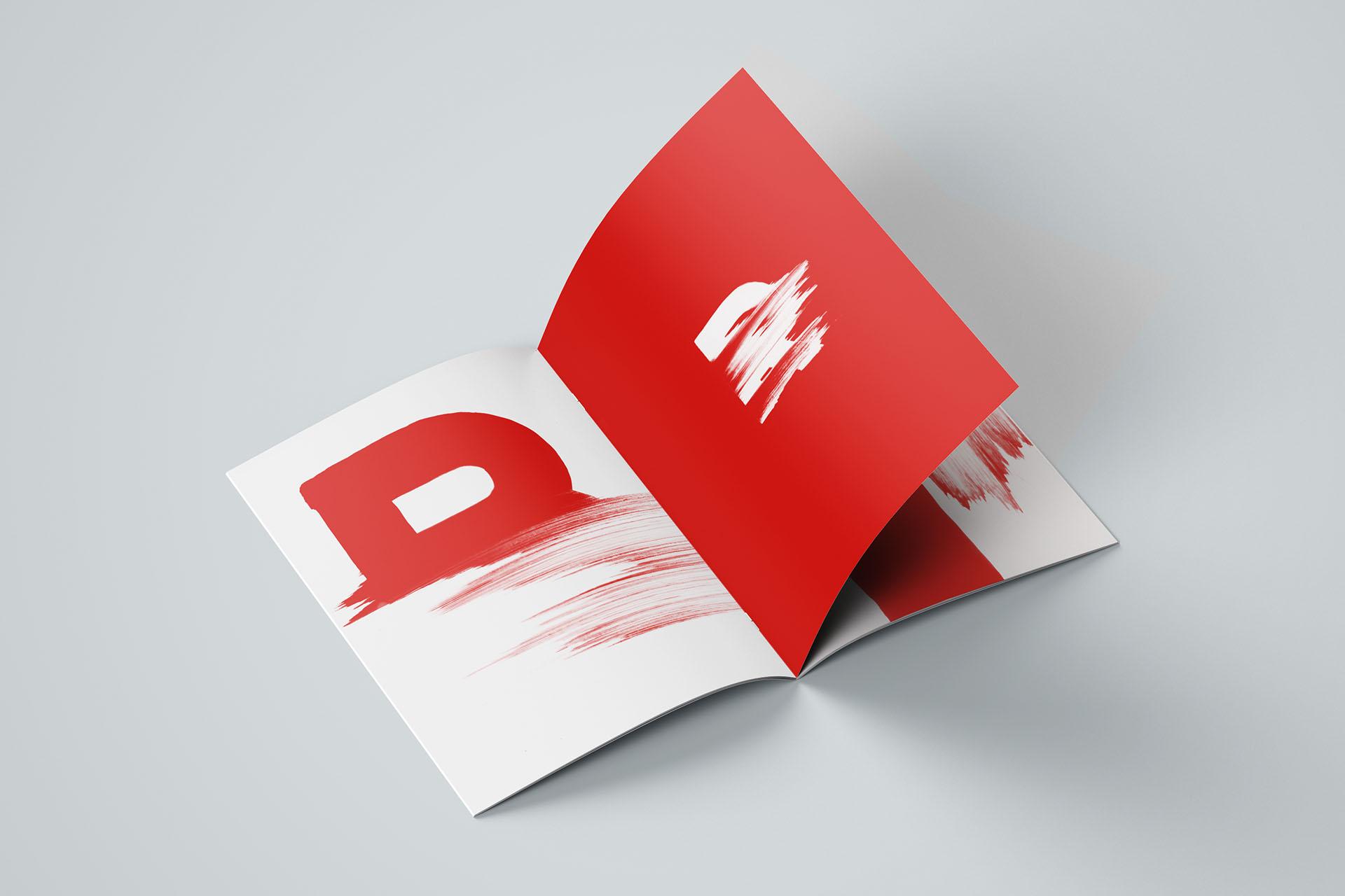 Lettres alpha Agence MMàj poster graphique design graphisme nantes