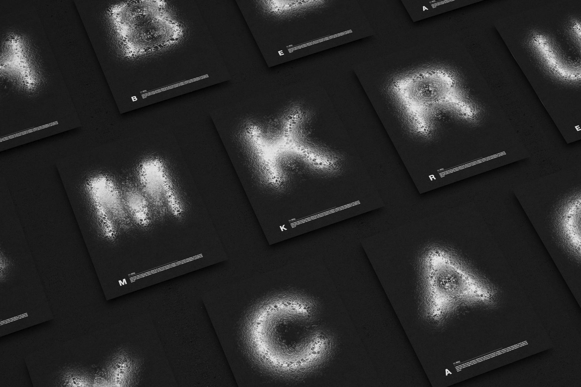 Creation typographique, design graphique, direction artistique nantes maison maj