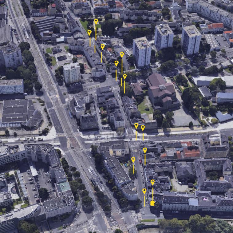 biesse Nantes signalétique urbaine ile de nantes maison maj katra peinture façade