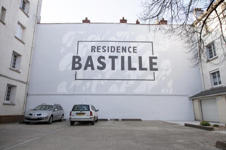 Peinture en lettres Nantes maison maj décoration façade