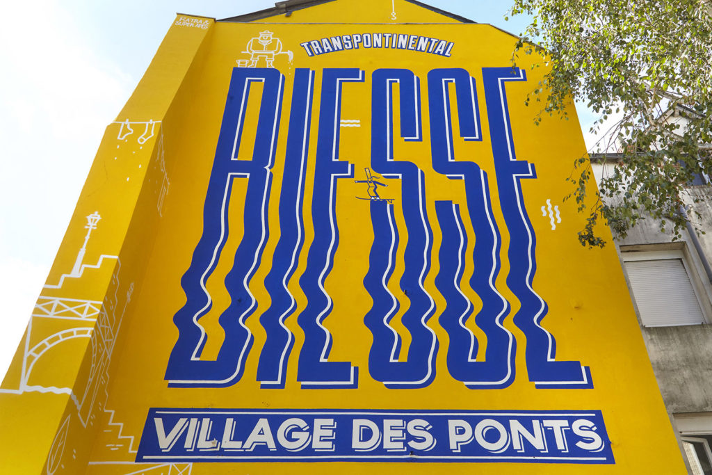 Maison màj Signalétique urbaine rue Biesse Nantes