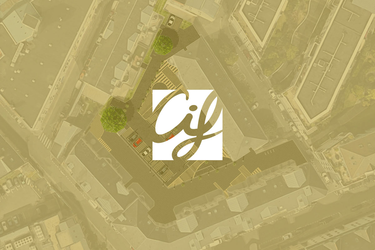 design graphique espace urbain groupe cif