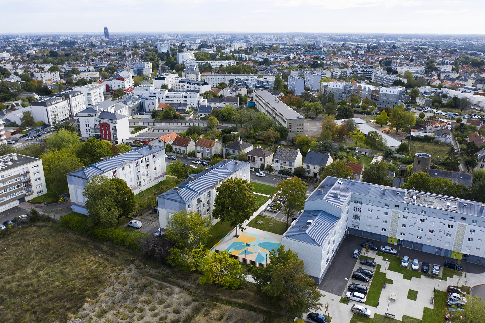 design maison Màj décoration terrain basket nantes interventions urbaines