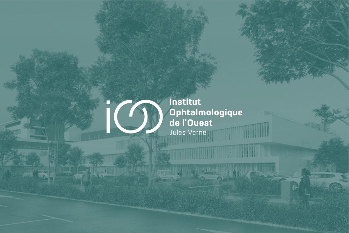 création du site internet pour l'institut ophtalmologique de l'ouest clinique jules verne nantes