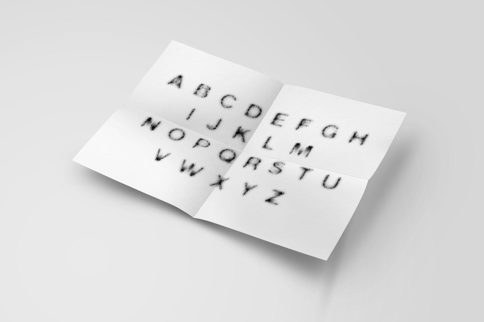 NOISY TYPE FULL ALPHABET et caractères presentation maison maj nantes