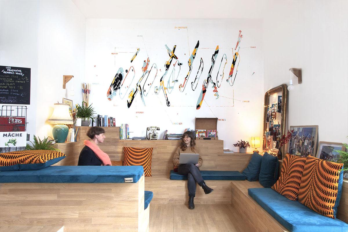 conciergerie de quartier nantes decoration interieur peinture artistique4