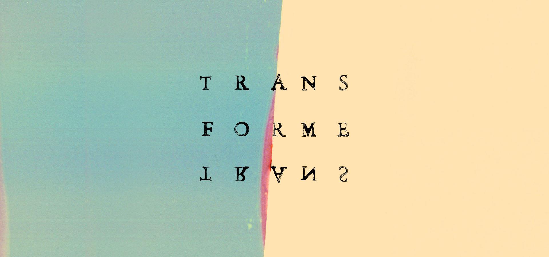 maison maj transforme typographie