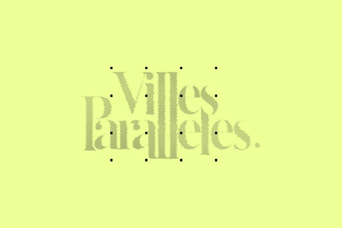 villes paralèlles identité graphique logo direction artistique urbanisme tiers lieux decarbonne