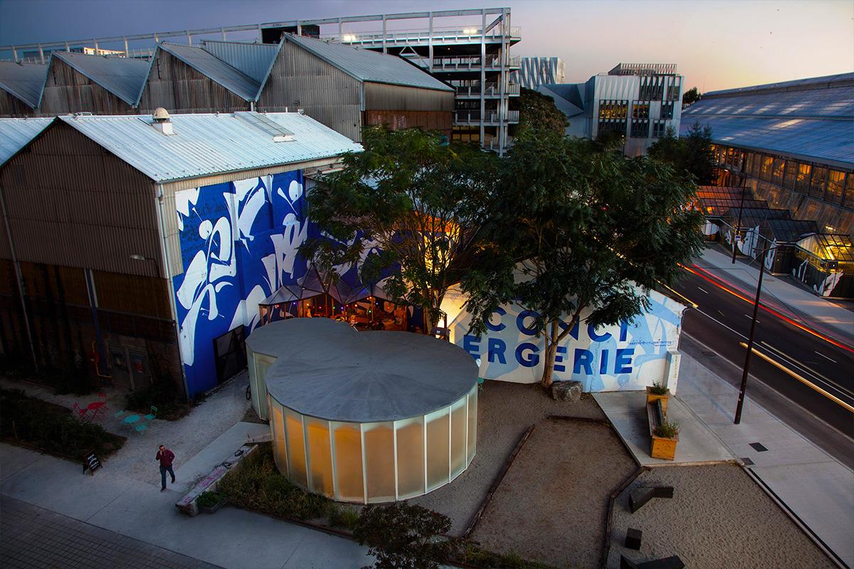 La Conciergerie iles de Nantes identité graphique décoration mural signalétique urbaine maison maj