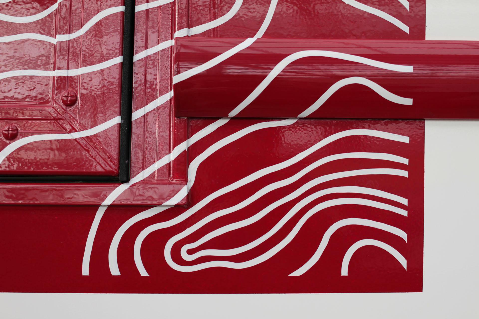 peinture estafette renault direction artisitique maison maj peinture en lettres